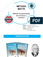 Metodo Matte Presentación