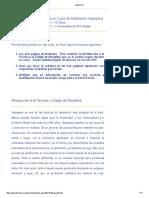 Vipassana Informacion Curso