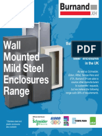 Burnand XH Wall Mounted Mild Steel Enclosures