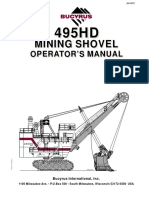 Manual Operación Pala Eléctrica 495hd