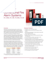 K85005-0126 -- FX Series Conventional Fire Alarm Systems