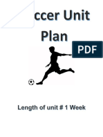 soccer unit plan