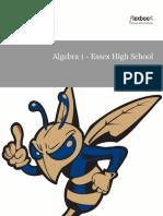 Algebra 1 Textbook