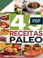 45 Receitas de Paleo