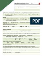 Adam s Vestibular Exam Form