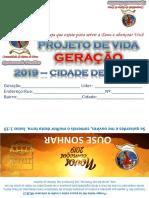 Projeto de Vida 2019 GERAÇÃO