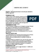 O.D.G. ( Annessi Provvisori e Ricoveri Per Animali in Terreno Agricolo)