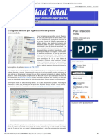 Calidad Total_ El Diagrama de Gantt y Su Vigencia. Software Gratuito Recomendado
