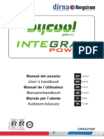 Bycool Integral Power, Manual de Usuario