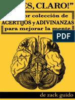 !Pues, claro! La mejor colección de asertijos y adivinanzas para mejorar la mente - Zack Guido.pdf