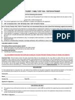 Visit Visa Checklist v 1