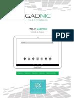 KTAB024C Tablet GADNIC Taurus Phone 10.1″- Quadcore - 32GB