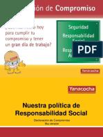 Presentación RSI JUNIO 2015 - 5ta Versión de La Declaración de Compromiso V3