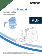 Manual Masina de Brodat M280