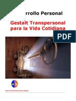 Dossier Desarrollo Personal y Gestalt Para La Vida Cotidiana