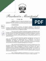 Proyecto Reglamento Decreto Legislativo del Notariado