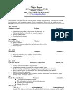 zharia resume