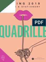 Spring 2019 Quadrille Catalog