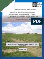 Instalacion de Un Sistema de Riego Tecnificado Por Aspersion Para El Gge Nuevo Amanecer, Distrito Cabanilla, Provincia Lampa, Region Puno