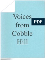Voices from Cobble Hill