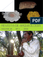 Sociedad de arqueologia brasilera.Revista de arqueologia Volumen 29 n°1 2016