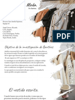 Moda de Barthes