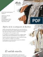 Moda de Barthes