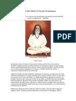 Los Seis Niveles Del Kriya Yoga Por Paramahamsa Hariharananda