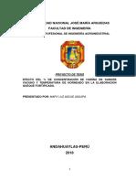 PROYECTO de INVESTIGACION- Efecto de La Concentracion de Harina de Sangre en La Elaboracionde