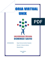 Memoria Virtual - Unix