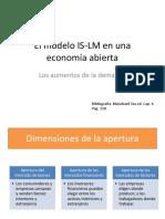 La Política Económica en Una Economía Abierta (1)