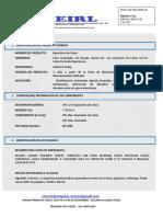 HOJA de SEGURIDAD Hipoclorito de Calcio Granulado Aquafit (1)