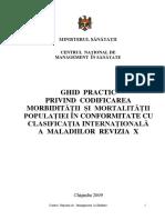 Ghid practic privind codificarea mobidităţii şi mortalităţii populaţiei în conformitate cu clasificaţia internaţională a maladiilor, ediţia X.pdf