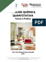 Apostila- Análise Química Quantitativa 2016