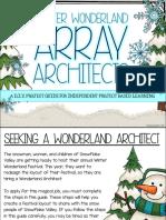 winter wonderland array architects -  digital copy for students
