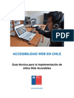 Guí-A de Accesibilidad Web - Senadis 2017