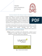 Guía de Instalación - Vivado HL WebPACK