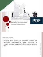 PP2 - M1 - Relações Interpessoais - Motivação e Comportamento