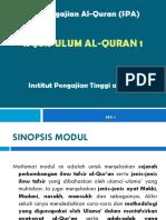 Ulum Quran 1 - Sesi 1