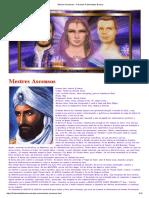 Mestres Ascensos - A Grande Fraternidade Branca