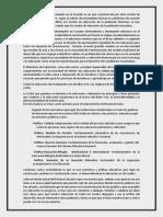 Políticas educativas y desempeño en el Ecuador es un país caracterizado por altos niveles de pobreza.docx