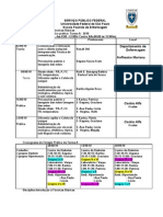 Cronograma ITB Segundo Grupo 10