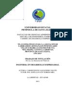 Plan Estratégico Para La Asociación de Ladrilleros Artesanales Peninsulares Velazco Ibarra Luchando Por Una Vida (1)