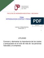 Semana 01 INTRODUCCION COSTOS Y PRESUPUESTOS.ppt