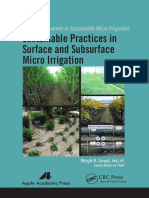 SURFACE AND SUBSURFACE MICRO IRRIGATION