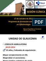 Sesión Clínica, uso de membrana amniótica en cirugía oftalmológica