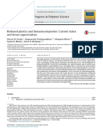 Biobased Plastics and Bionanocomposites Current Status