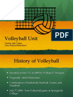 volleyball unit