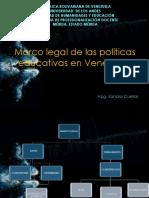 Marco Legal de Las Politicas Educativas en Vzla