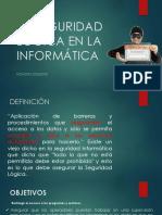 4.4 La Seguridad Lógica en La Informática